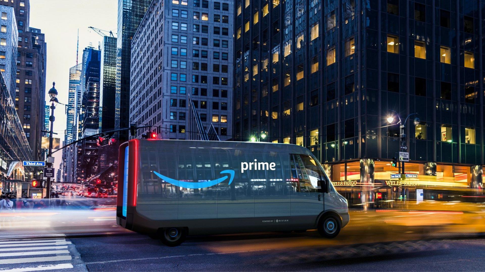 Amazon: consegne 100% elettriche con un nuovo Van