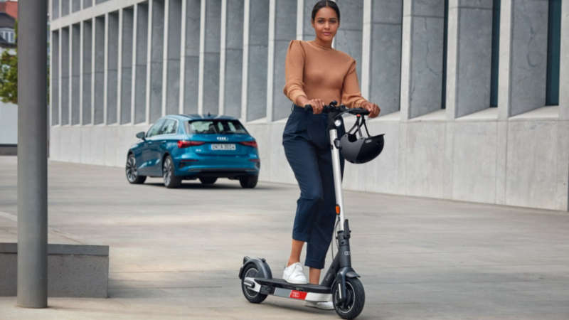 Electric Kick Scooter: Il Nuovo Monopattino Elettrico Targato Audi
