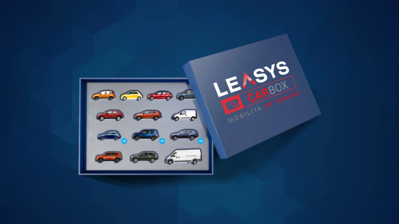 Leasys CarBox: l'Abbonamento Auto On Demand in Italia