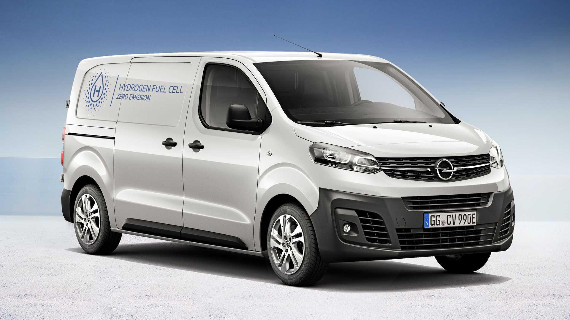 Opel Vivaro-e HYDROGEN: il Plug-In Fuel Cell con zero emissioni e rifornimenti rapidi